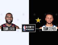 Стали известны составы команд Леброна Джеймса и Стефа Карри на NBA All-Star Game