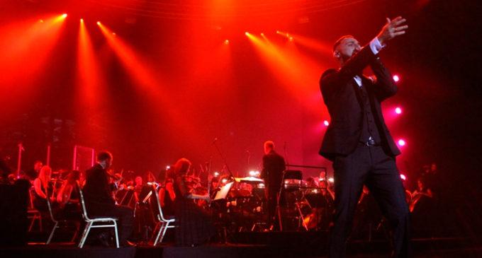 Концерт L'One с симфоническим оркестром