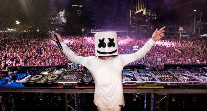 Marshmello опубликовал даты своих концертов
