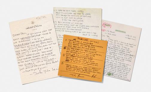 Почерки знаменитостей стали шрифтами, которые отправились в суд