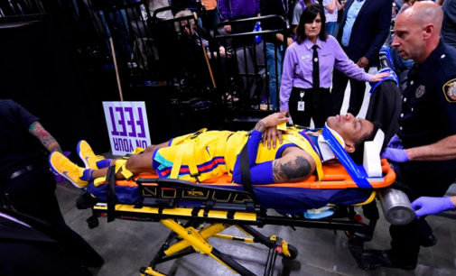 Patrick McCaw из Golden State Warriors получил серьёзнейшую травму