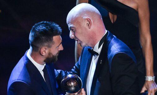 Лионель Месси снова объявлен лучшим футболистом мира