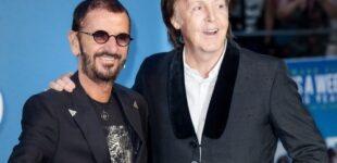 Пол Маккартни и Ринго Старр записали последнюю песню Джона Леннона