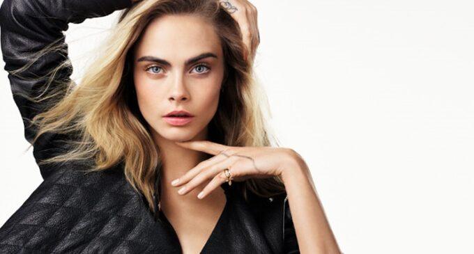 Кара Делевинь стала лицом ювелирной коллекции Dior