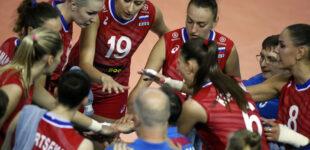 Волейбол. Кубок мира. Женщины. Россия – Япония 3:2.