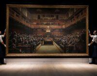 Картина Бэнкси продана за 12 миллионов