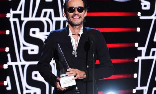 Марк Энтони получил премию за выдающиеся музыкальные  достижения