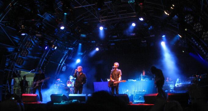 Концерт UNKLE в Москве и Питере