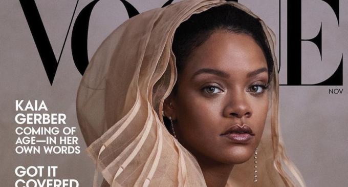 Рианна для нового журнала Vogue