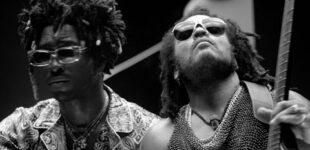 Saint JHN и Ленни Кравиц сняли черно-белый клип на песню «Borders»