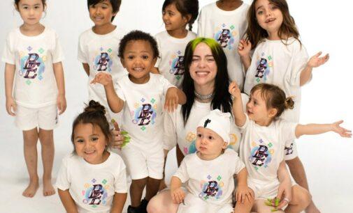 Билли Айлиш запустила собственную линейку детской одежды