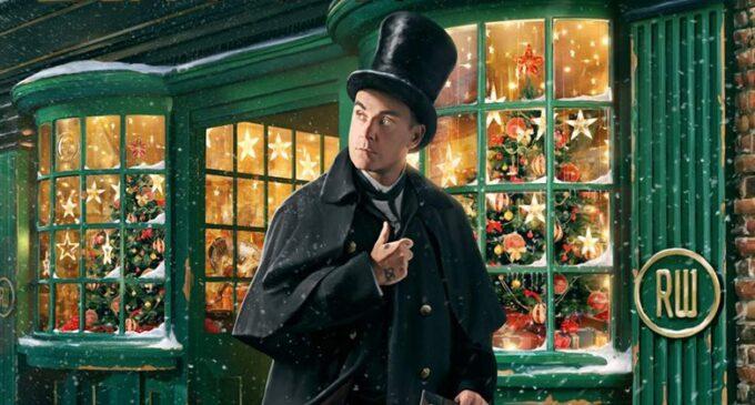 """Робби Уильямс """"Рождественский подарок"""""""