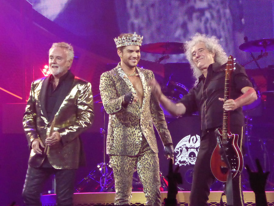 Группа Queen + Adam Lambert