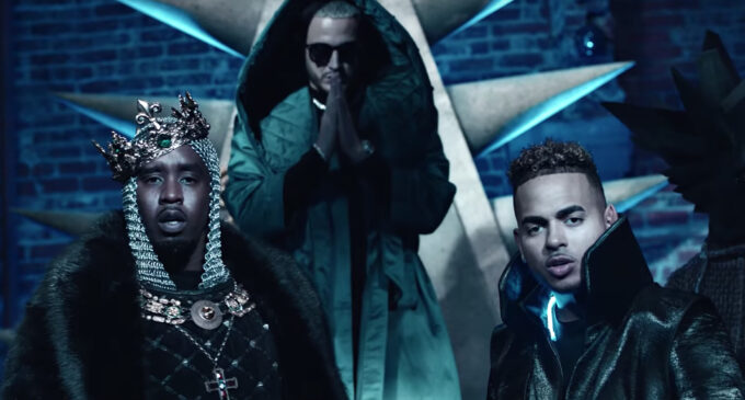 "DJ Snake, Diddy и Ozuna сняли клип на трек ""Eres Top"""