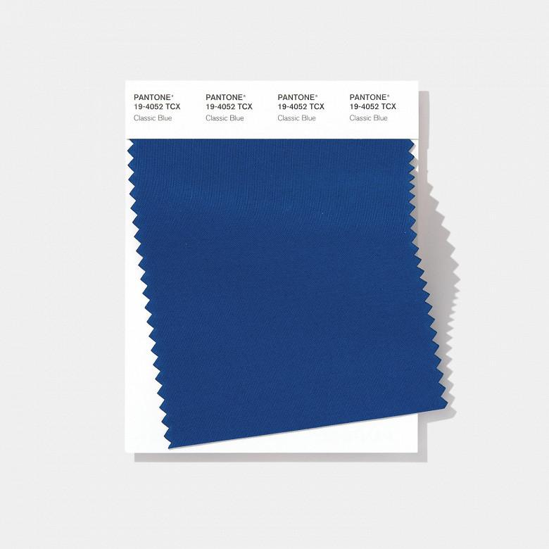Главный цвет 2020 года  классический синий (Pantone 19-4052).