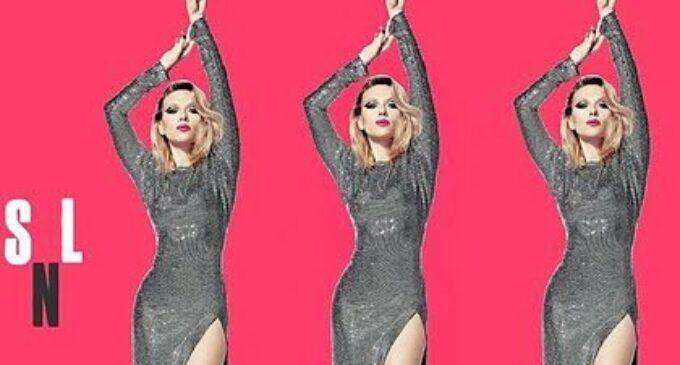 Скарлетт Йоханссон появилась на шоу Saturday Night Live в платье от Александра Терехова