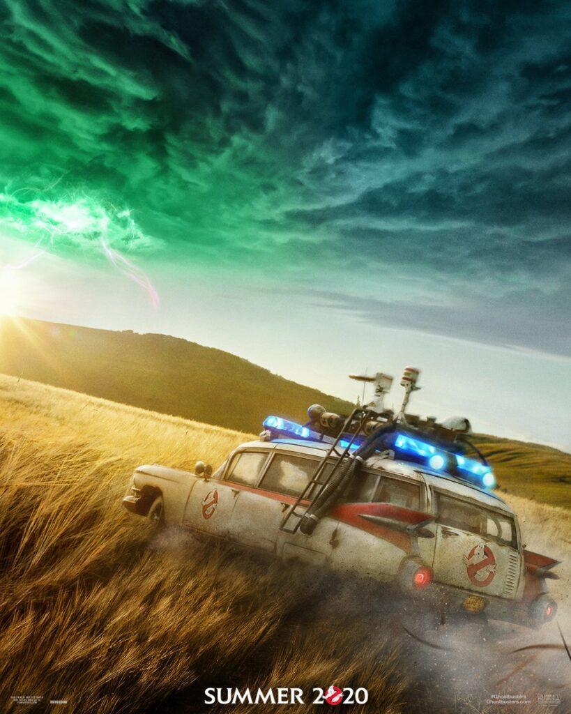 Первый постер фильма  «Охотники за привидениями: Наследники»