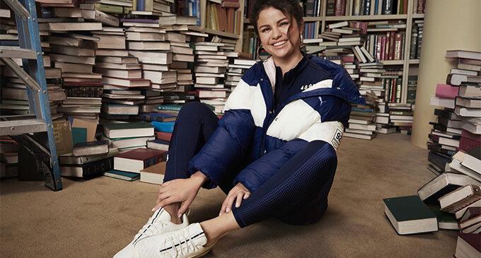 Селена Гомес и Puma создали коллекцию, вдохновленную регби