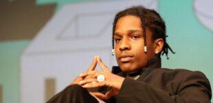 A$AP Rocky выступил в Швеции: в клетке и в тюремном костюме