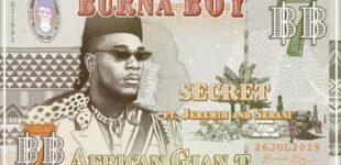 Гигант из Нигерии – Burna Boy выпустил новое видео – Secret