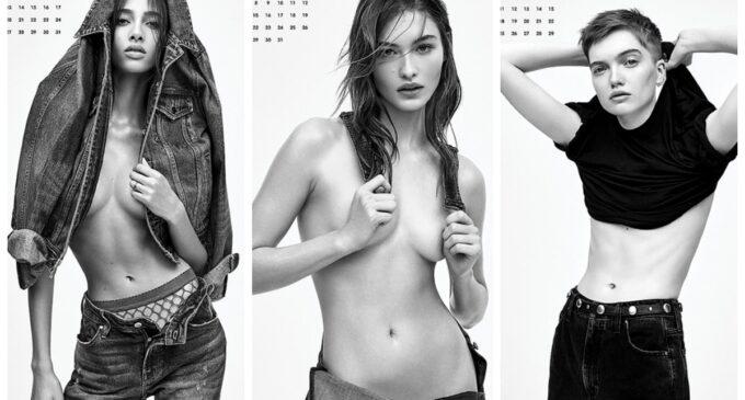 Мода и стиль. Сестры Хадид, Хейли Болдуин и другие в провокационном календаре V Magazine