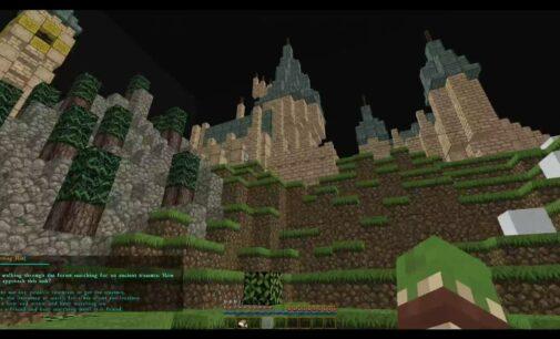 Фанаты создали вселенную Гарри Поттера в Minecraft: видео