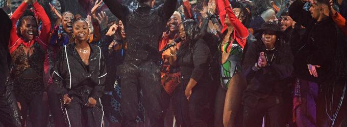 Взрывное выступление Stormzy на BRIT Awards 2020