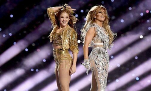 Последние новости. Дженнифер Лопес и Шакира выступили на «Суперкубке 2020»