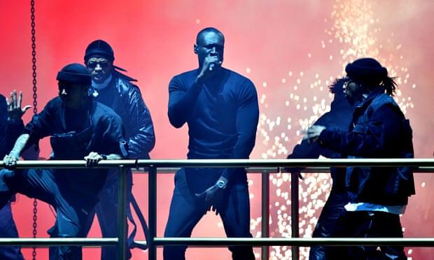 Stormzy на BRIT Awards 2020