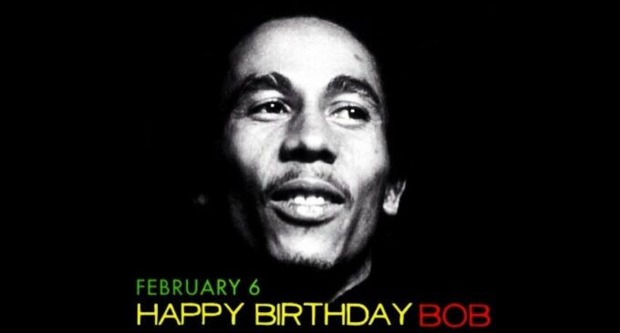 Happy Birthday, Bob Marley!