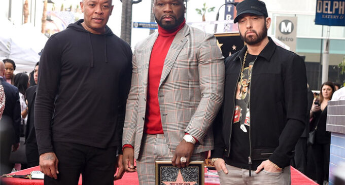 50 Cent получил звезду на Аллее славы Голливуда