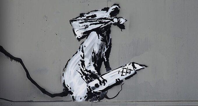 Новости в мире искусства. Похитители работы Бэнкси в Париже заявили, что он сам попросил их украсть ее