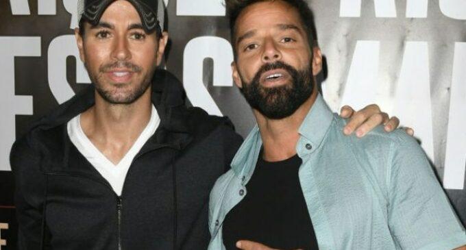 Последние новости шоубиз. Энрике Иглесиас и Рики Мартин объявили совместный тур
