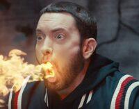 Последние музыкальные новинки Рэп. Эминем экранизировал бэнгер «Godzilla»