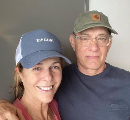 Актер Том Хэнкс и его жена Рита Уилсон были выписаны из австралийской больницы