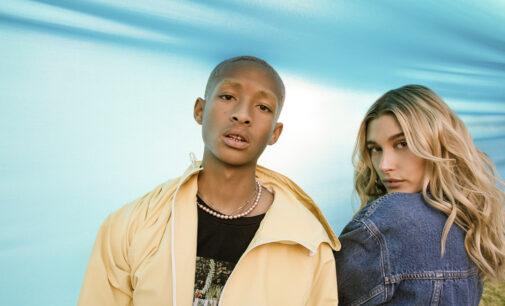 В мире моды и стиля. Хейли Бибер и Джейден Смит снялись в новой кампании Levi's