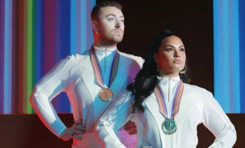 Новости в мире музыки. Сэм Смит и Деми Ловато готовы к любви в новом клипе «I'm Ready»