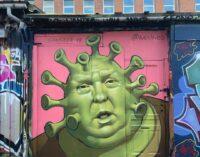 Искусство в наше время. Уличные художники со всего мира посвящают граффити коронавирусу