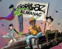 Музыка и книги.  Gorillaz в честь своего 20-летия выпустят  книгу комиксов