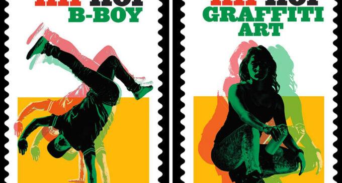 Новости хип-хоп. В США выпустили почтовые марки в честь хип-хопа