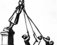 Искусство и политика. Бэнкси поддержал возвращение статуи работорговца в Бристоле