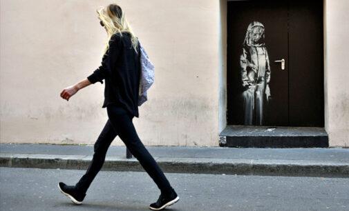 Современное искусство. В Италии нашли пропавшее граффити Бэнкси, посвященное терактам в Париже