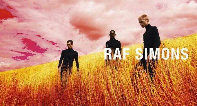 Мода и стиль. Raf Simons представил новую кампанию в психоделических полях