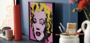 Искусство и музыка. LEGO выпустит линейку LEGO Art