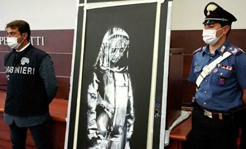 Культура и искусство. Италия вернула Франции украденную работу Бэнкси