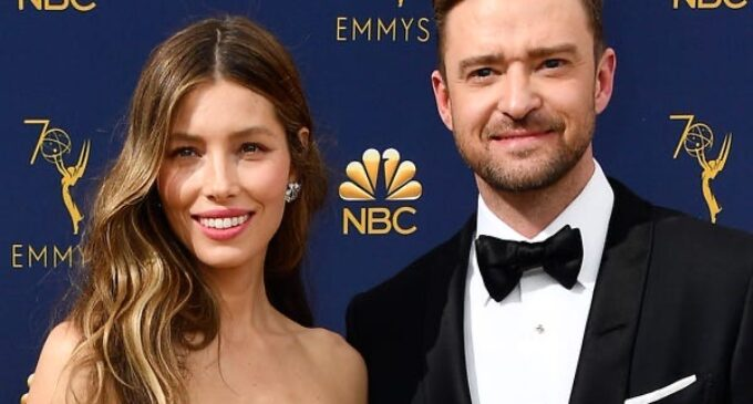 Новости шоубизнеса. Джастин Тимберлейк и Джессика Бил во 2-й раз стали родителями