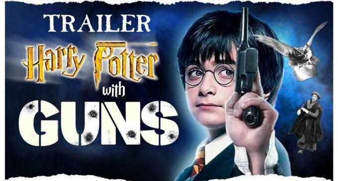 """Новости киноиндустрии. Вышла версия """"Гарри Поттера"""", где магию заменили на оружие"""