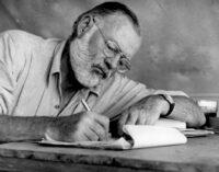 Культура и искусство. В книгах Хемингуэя нашли огромное число ошибок из-за почерка автора
