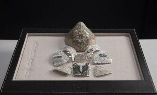 Искусство и культура. Израильский ювелир создал самую дорогую в мире защитную маску из золота и бриллиантов — она стоит $1,5 миллиона