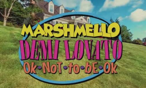 Новинки музыки. Новая совместная песня Marshmello и Деми Ловато